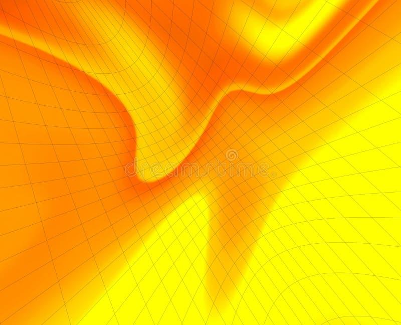 Download Orange nätverk stock illustrationer. Illustration av härlig - 508072