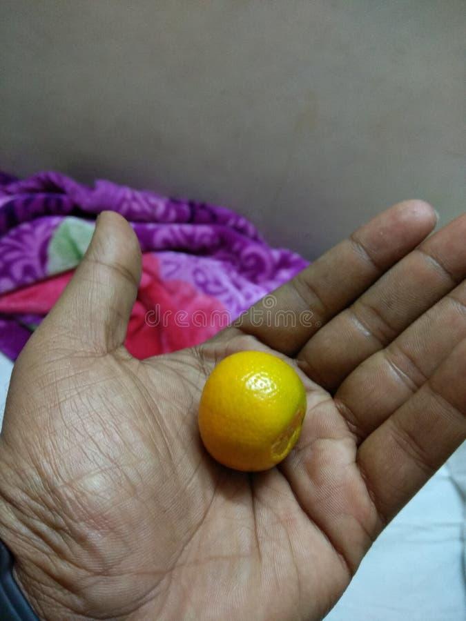 Orange naine photographie stock libre de droits
