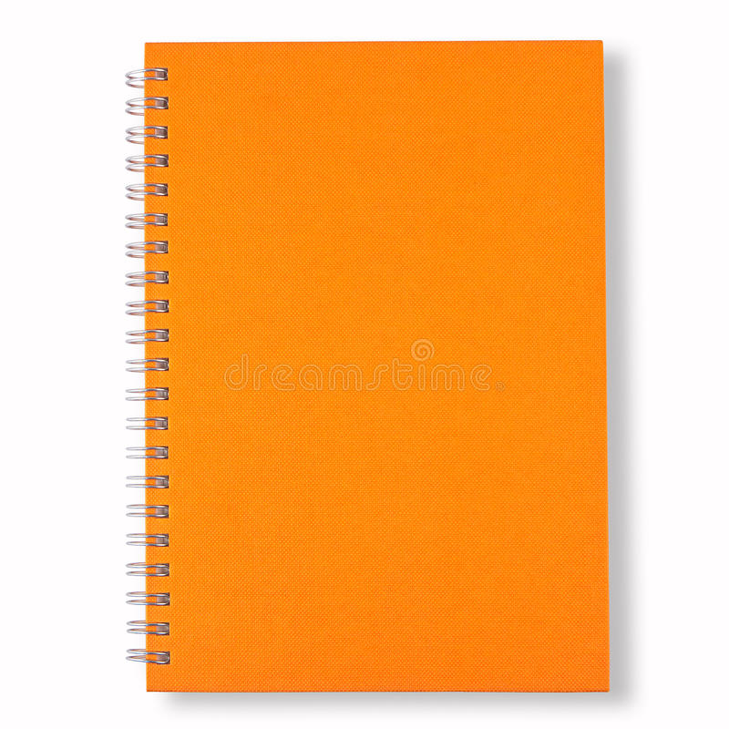 Free Orange Note Book Stock Photos - 16308553