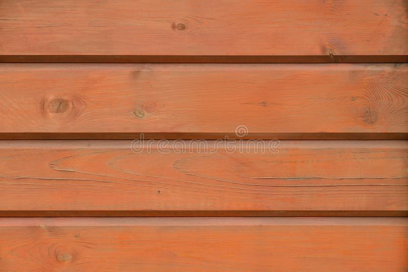 Orange o coral grunge wood pattern texture background, wooden planks royalty free stock image