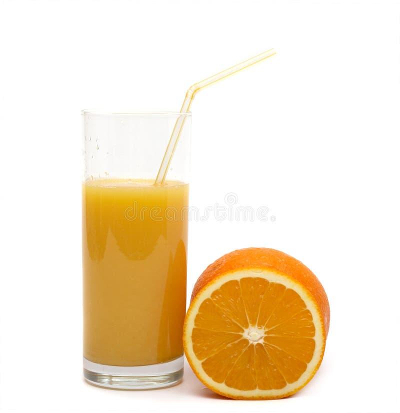 Orange and orange juice stock images