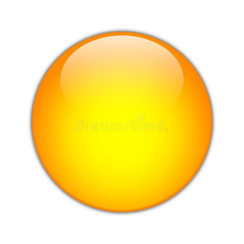 Free Orange Orb [01] Royalty Free Stock Image - 5088646