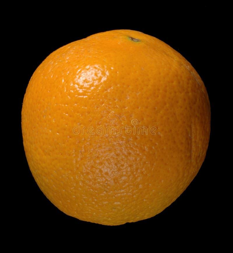 Orange Over Black Stock Photos