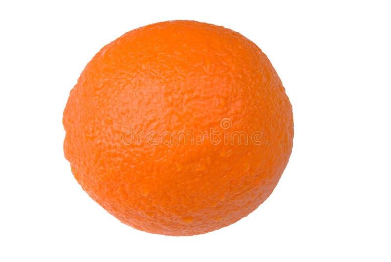 Orange over white royalty free stock images
