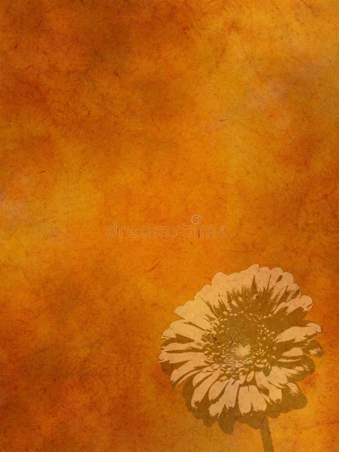 Orange paper bakgrund fotografering för bildbyråer