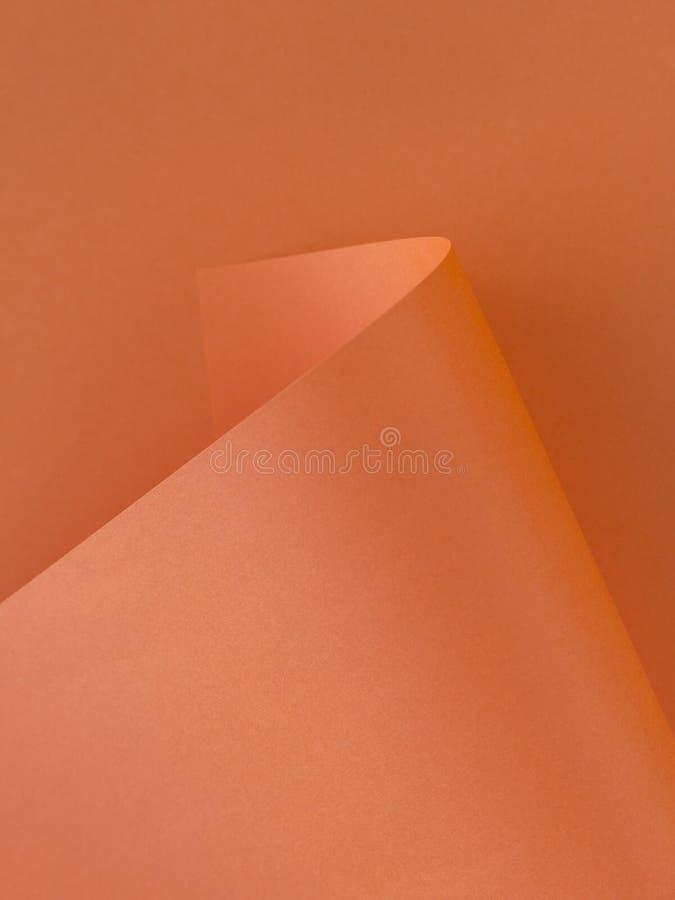 Orange Papierbeschaffenheit für Hintergrund lizenzfreie stockbilder