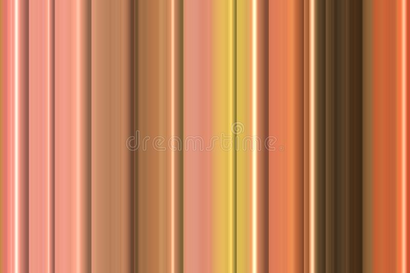 Orange pastel pink lines, abstract background and pattern stock photography