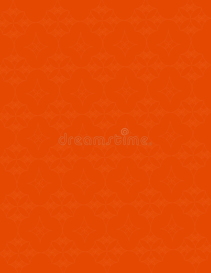 Orange Patterned Background royalty free stock photo
