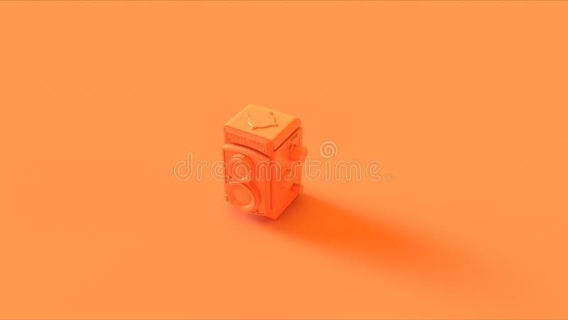 Orange/Peach Camera illustrazione di stock