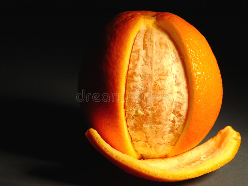 Orange Peel stock image