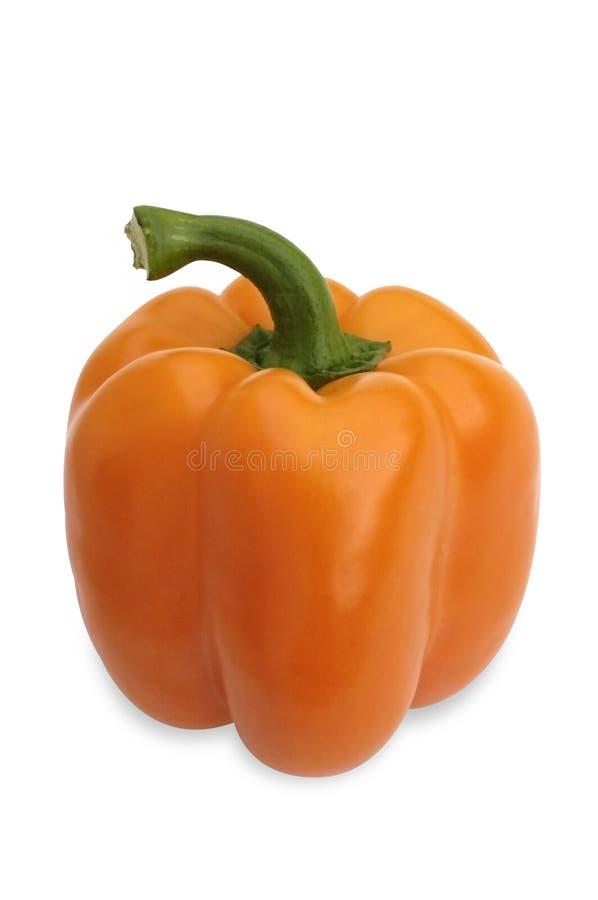 Orange pepper royalty free stock photo