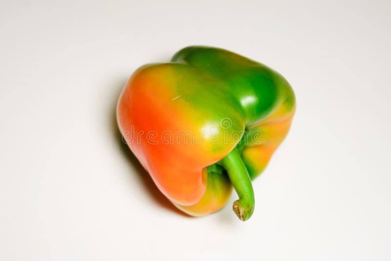 Orange Pfeffermehrfarbenpaprika stockbild