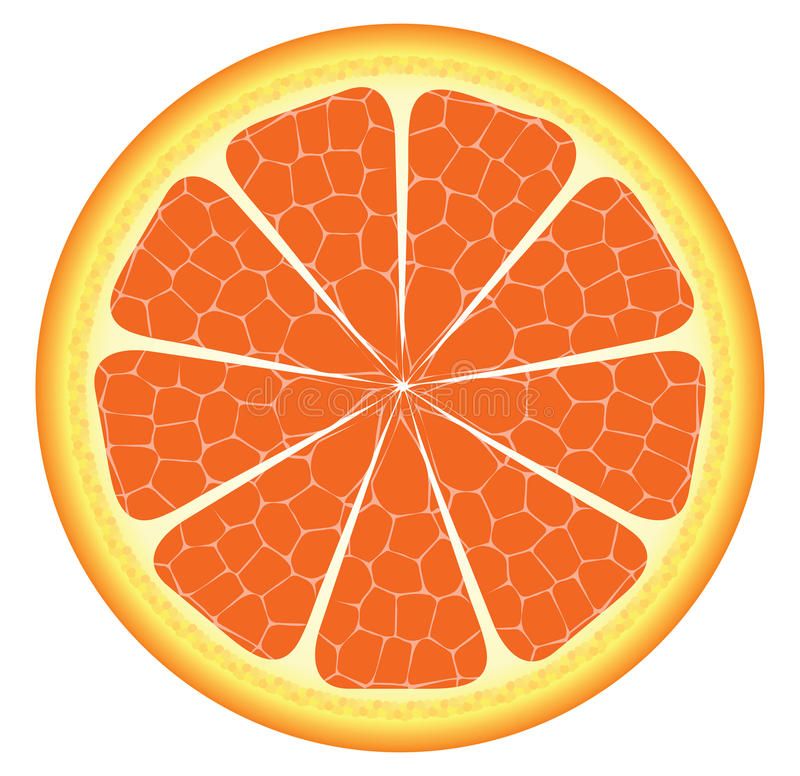 Free Orange Piece Or Slice Royalty Free Stock Images - 35257569