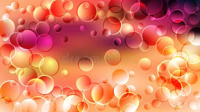 Orange Pink Red Background Beautiful elegant Illustration graphic art design Background. Image royalty free illustration