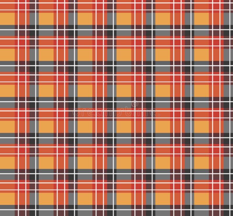 Download Orange Plaid Fabric Royalty Free Stock Image - Image: 21504886