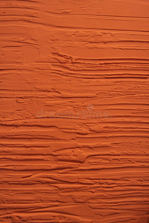 Orange plastering wall royalty free stock images
