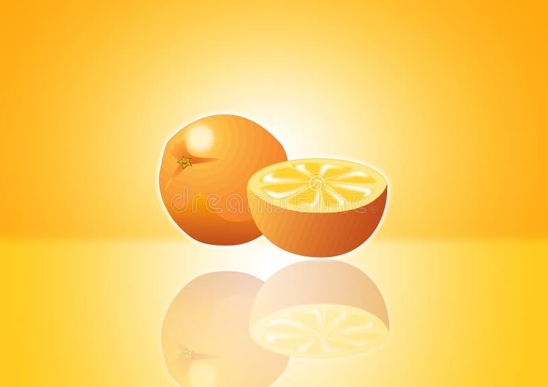 Download Orange for poster stock illustration. Image of freshness - 3323526