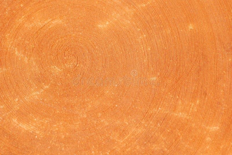 Orange pottery background. Orange pottery surface texture royalty free stock images