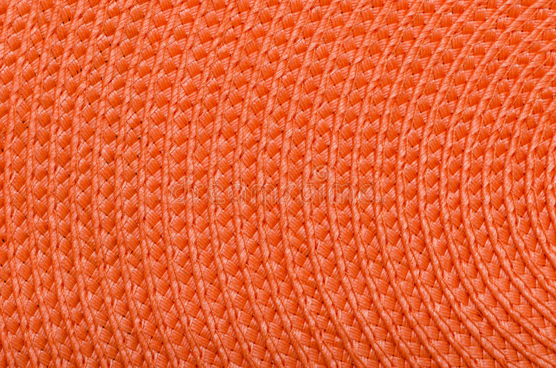 Orange Raffia royalty free stock photo