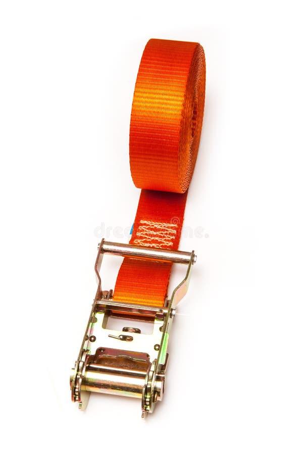 Free Orange Ratchet Strap Stock Photography - 42630372