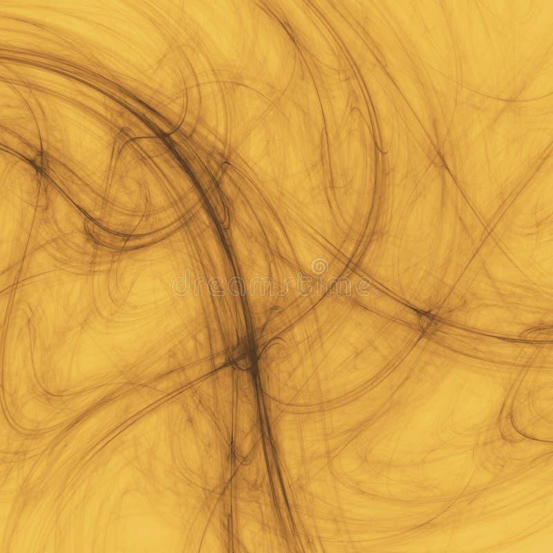 Orange Rauch stock abbildung