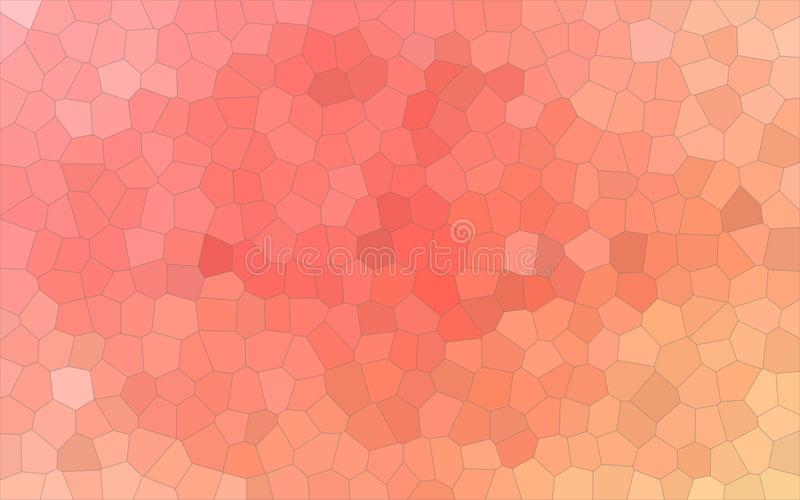 Orange, red and green colorful Little hexagon background illustration. Orange, red and green colorful Little hexagon background illustration royalty free illustration