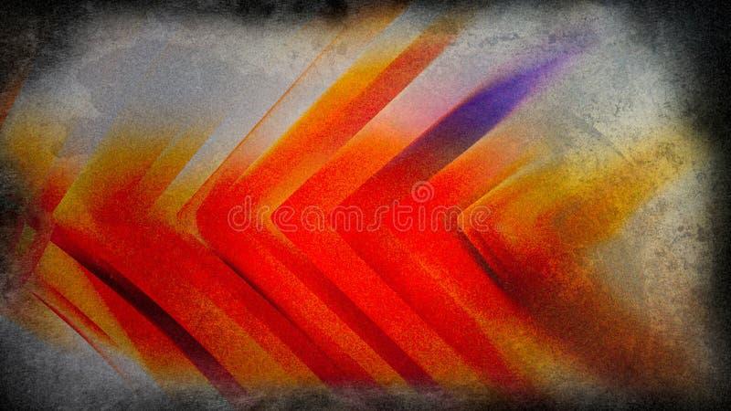 Orange Red Painting Beautiful elegant Illustration graphic art design Background. Orange Red Painting Background Beautiful elegant Illustration graphic art stock illustration