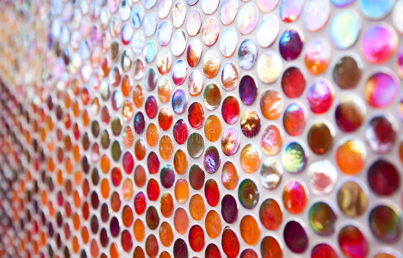 Download Orange And Red Round Mosaic Pattern Stock Photo - Image of classical, abstract: 26239770