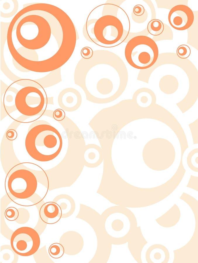 orange retro απεικόνιση αποθεμάτων