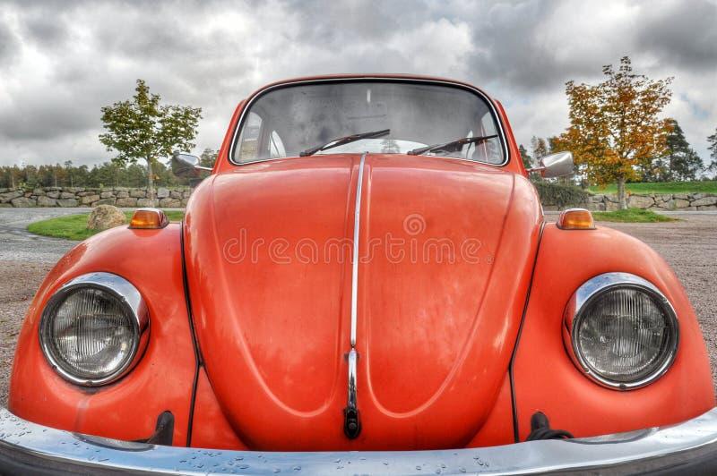 Download Orange retro car stock photo. Image of orange, bright - 59882964