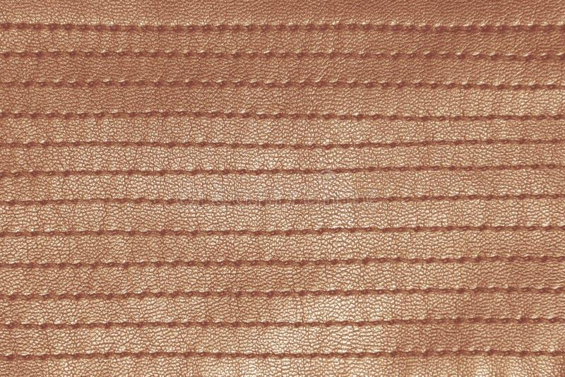 Orange retro sytt läder arkivfoton