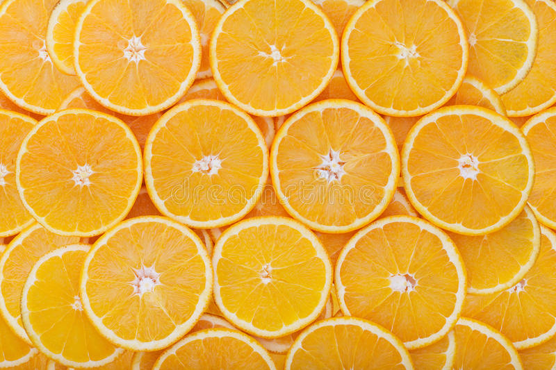 Orange rings as background royalty free stock photos