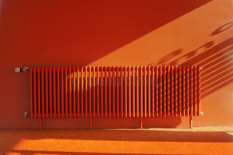 Orange room stock images