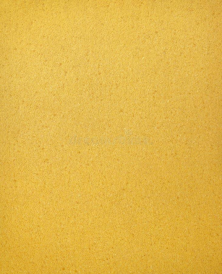 Orange Schaumgummi-Beschaffenheitshintergrund lizenzfreies stockfoto