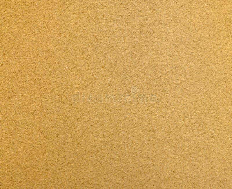 Orange Schaumgummi-Beschaffenheitshintergrund stockfoto