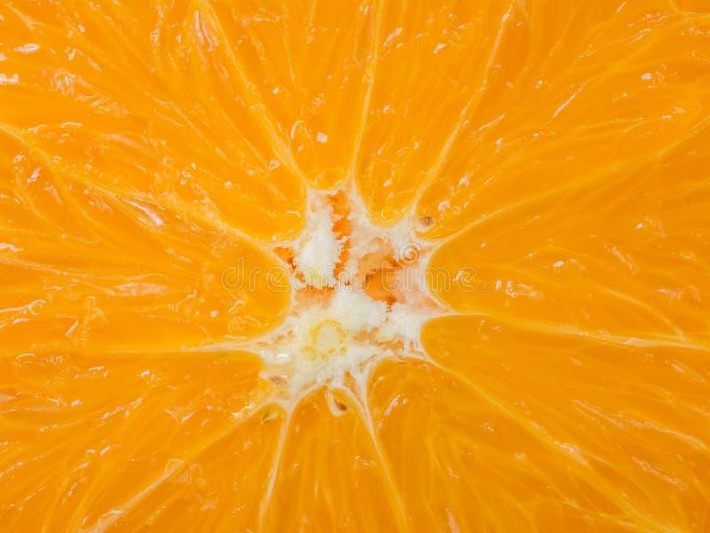 Orange Scheiben-Mitte lizenzfreie stockfotos