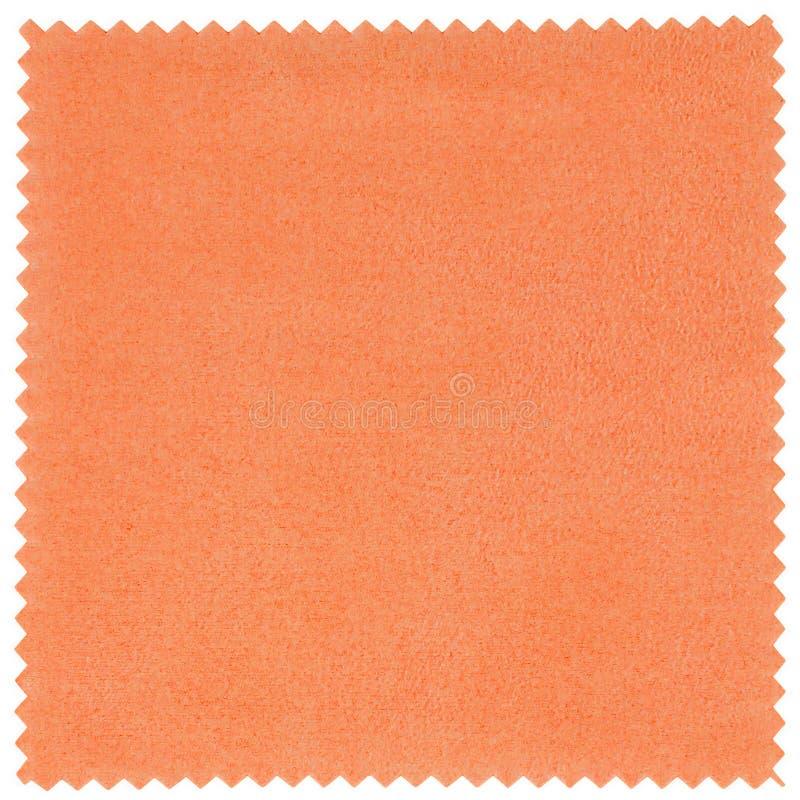 Orange Schirm-Stoff stockfotografie