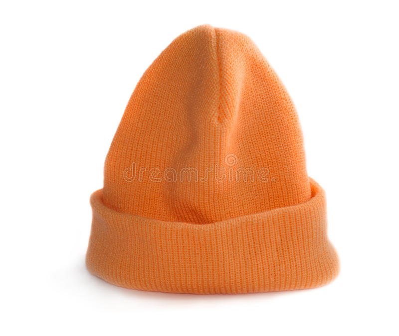 Orange Schutzkappe stockbilder