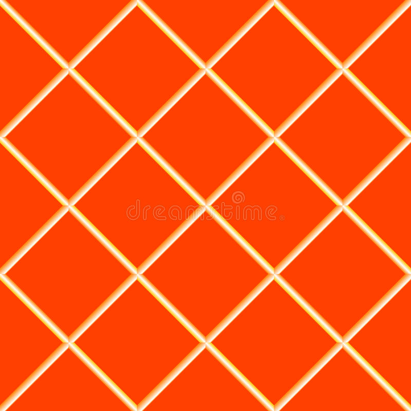 Free Orange Seamless Ceramic Tiles Royalty Free Stock Photo - 13404345