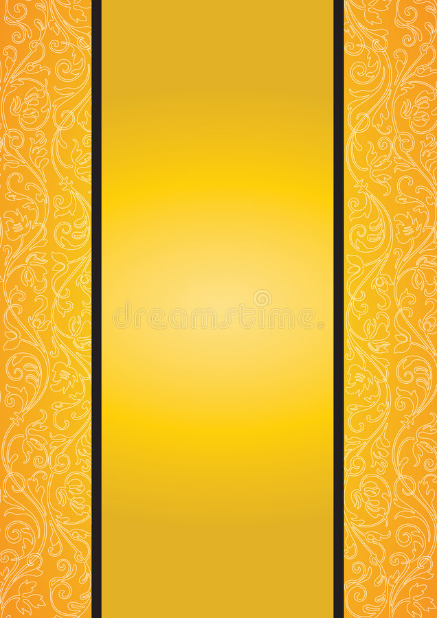 Download Orange seamless pattern stock vector. Image of ancient - 7495096