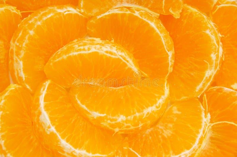 Orange Segmente lizenzfreie stockfotografie
