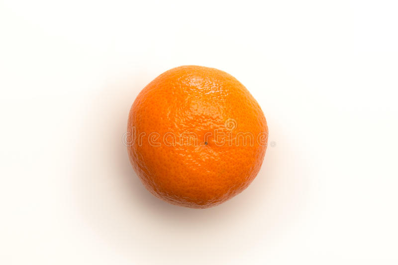 Orange shot from above royalty free stock photography