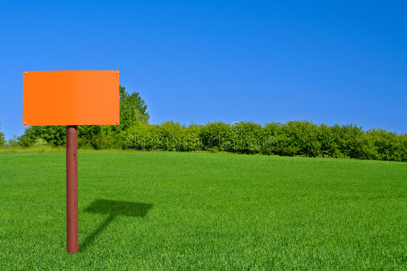 Download Orange sign post stock image. Image of direction, directional - 2348683