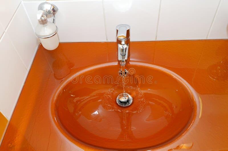 Orange siink royalty free stock images