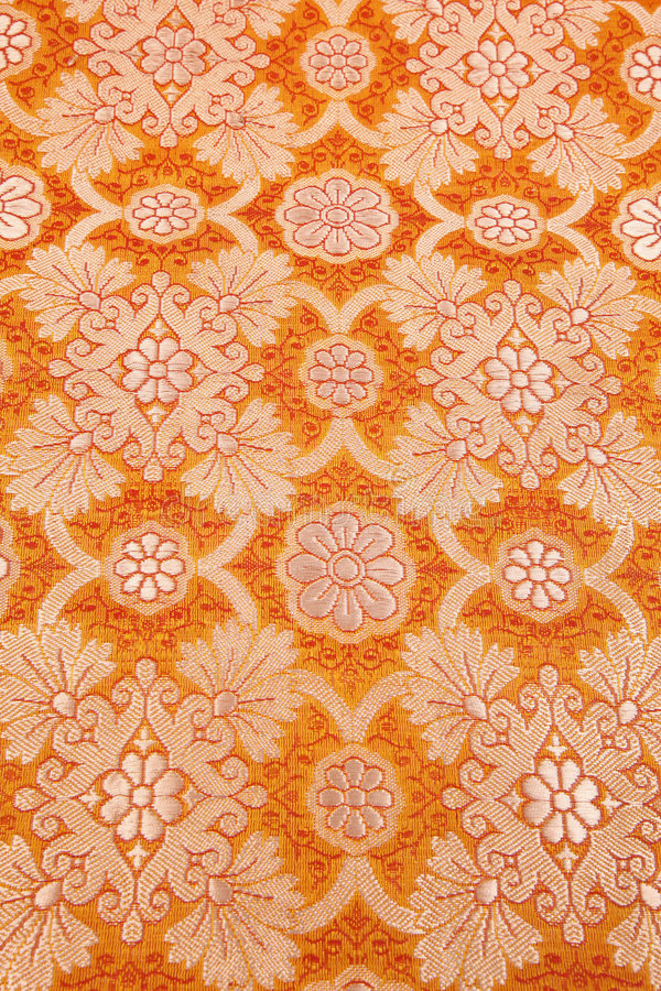 Download Orange Silky Background Cloth Stock Image - Image: 8213779