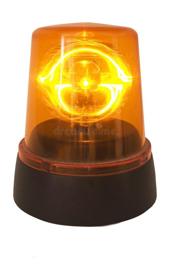 Orange Siren Royalty Free Stock Image
