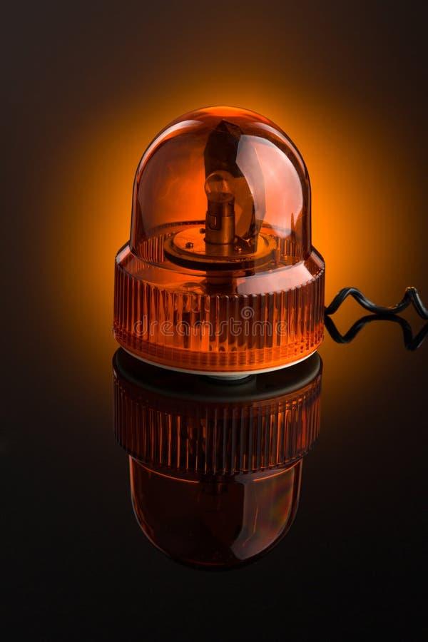 orange siren royaltyfri bild