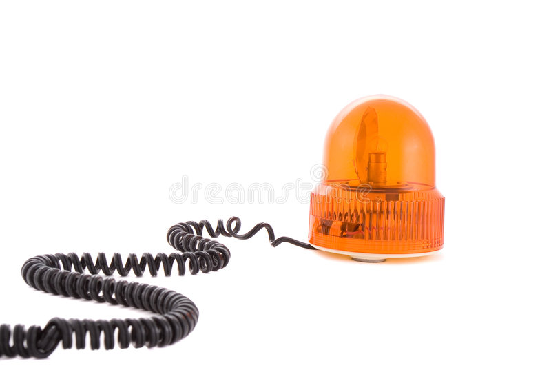 Orange Siren Royaltyfri Foto