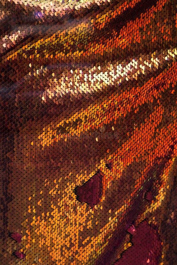 Orange skinande textur arkivfoto