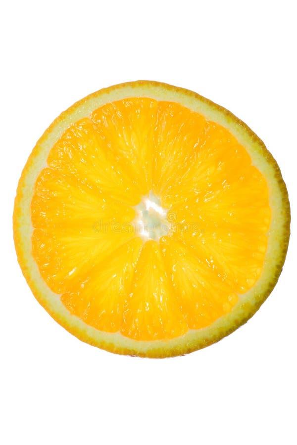orange skiva fotografering för bildbyråer